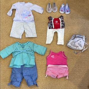 American Girl Clothing Bundle